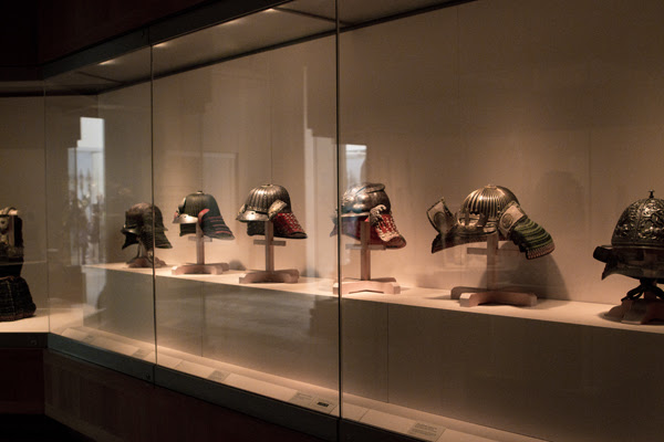 collection of Japanese helmet