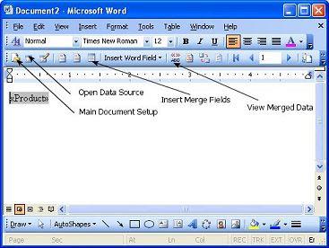 Bar Zip Codes Microsoft Word