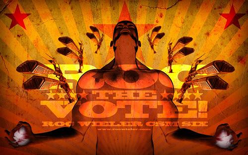 Roc The Vote: Roc Wieler CSM6 Wallpaper