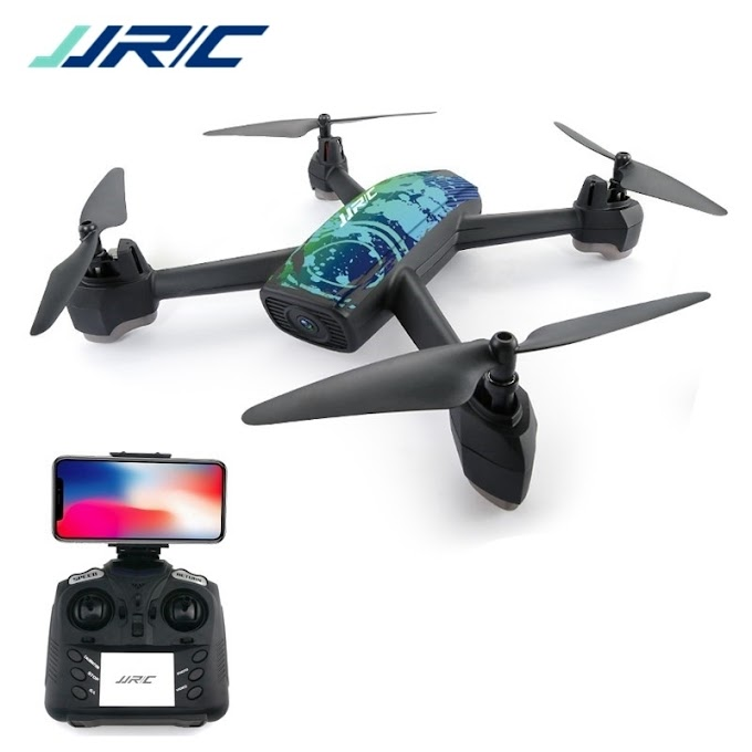 In Stock JJRC H55 TRACKER WIFI FPV With 720P HD Camera GPS Positioning RC Drone Quadcopter Camouflage RTF VS E58 H37