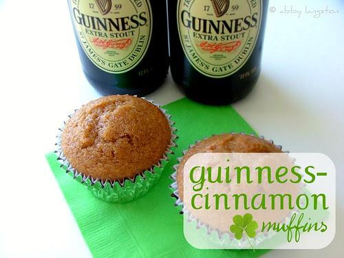 Guinness Cinnamon Muffins
