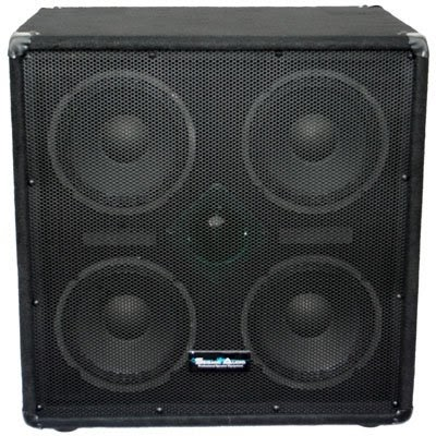 seismic audio 4x8 bass guitar speaker cabinet pa dj 500 watts 4 8 with horn bass cabinets save. Black Bedroom Furniture Sets. Home Design Ideas