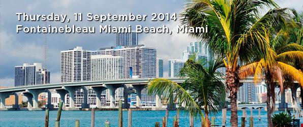 Thursday, 11 September 2014  Fontainebleau Miami Beach, Miami.