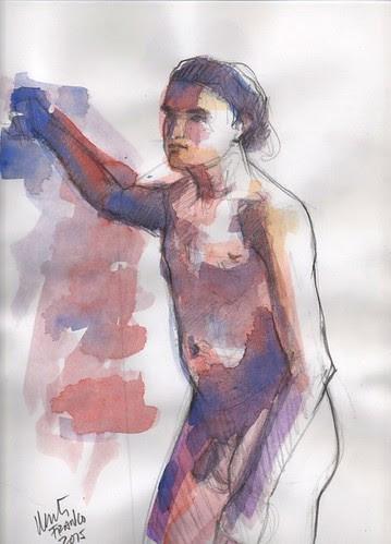 life drawing by dibujandoarte