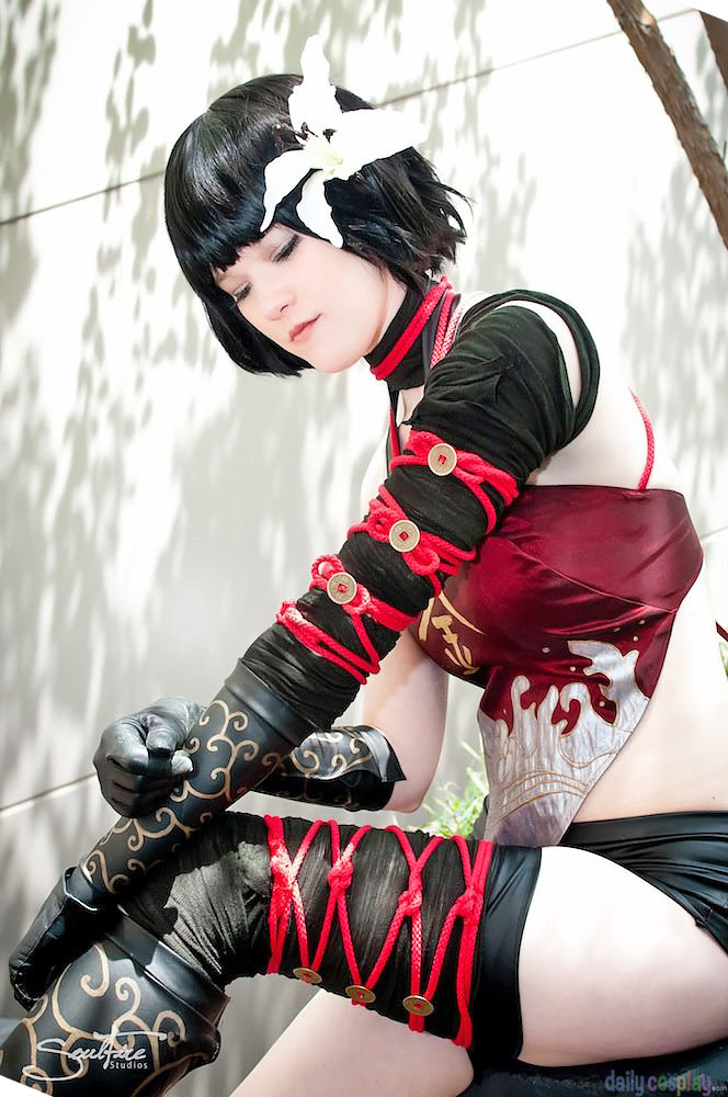 Kaine DLC Kabuki Outfit from NieR Gestalt / Replicant - Daily Cosplay .com