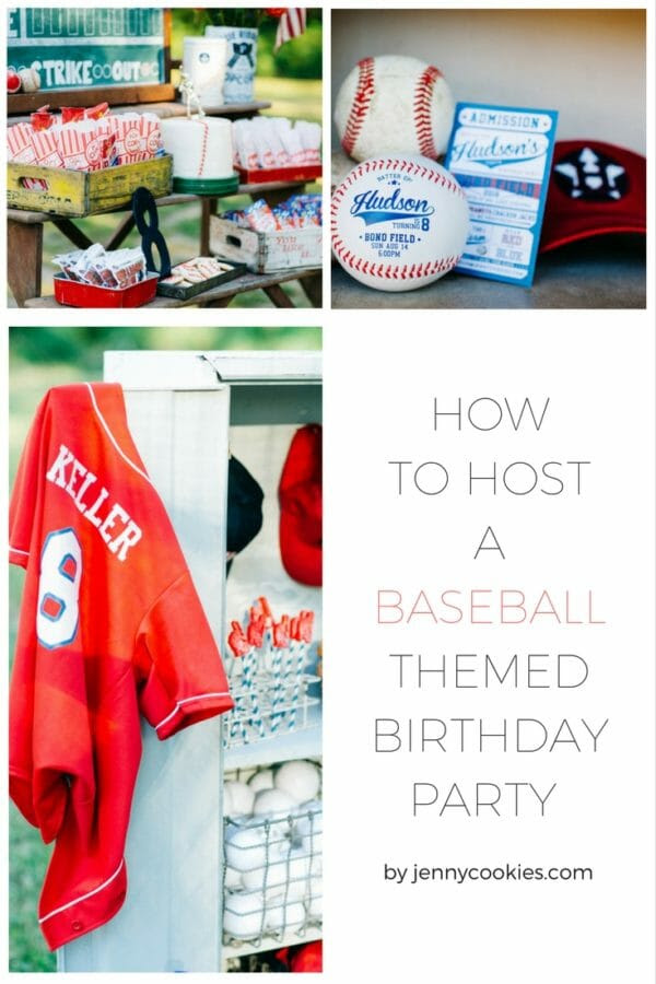 How To Host A Baseball Party Jenny Cookies