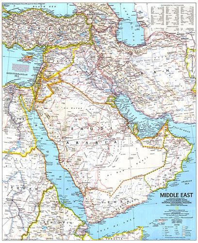 خريطة Middle East Kharita Blog