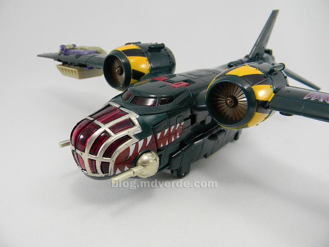 Transformers Lugnut United Voyager - modo alterno