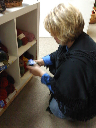 Ithaca: shopping for yarn