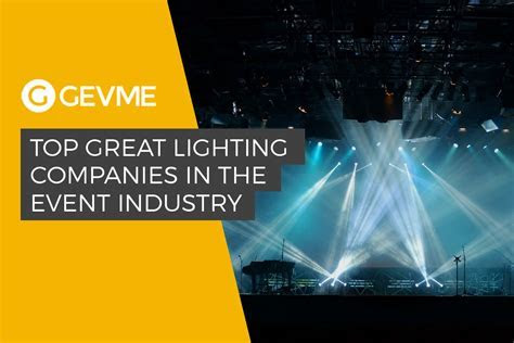 The Best Lighting Companies for Corporate Events