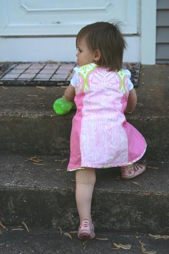 alice in her new dress