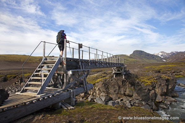 06D-0870 Bridge Over the Kaldaklofskvisl River Iceland