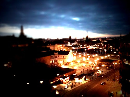 slussen in tilt shift generator for iphone