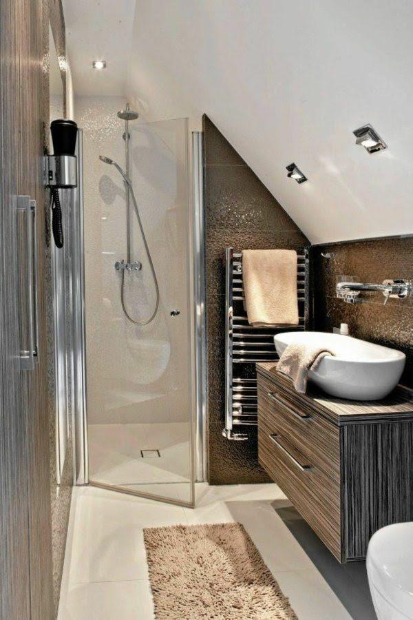badideen für kleine bäder mit dachschräge