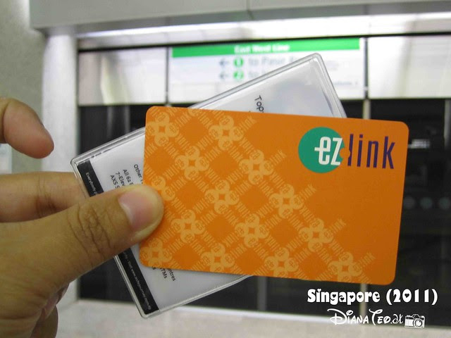 Day 1 Singapore - EZ Link Card