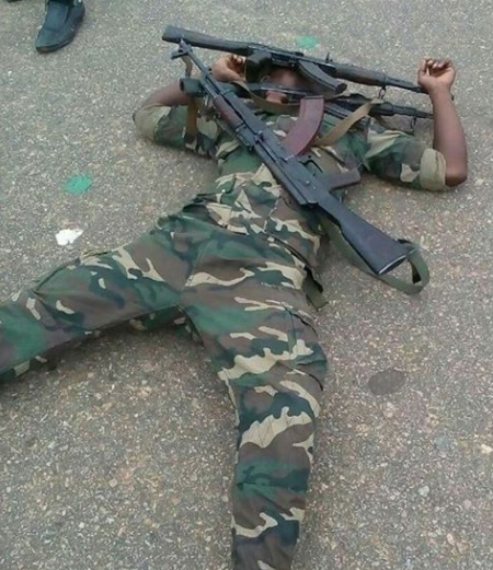 Angolans play dead in new social media photos to protest bad road and bad governance in the country