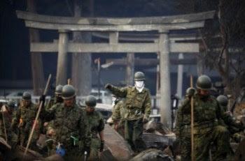 Na cidade de Otsuchi, 12 mil dos 15 mil habitantes estão desaparecidos