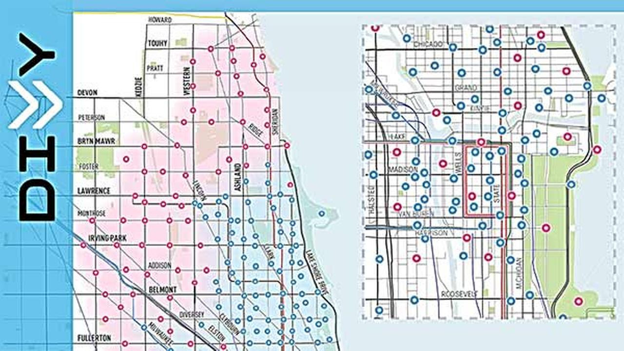 Chicago Divvy Bike Map Divvy Chicago Map | States Maps