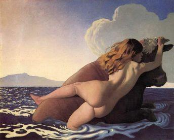 Φελίξ Βαλοτόν, «Η αρπαγή της Ευρώπης», 1908