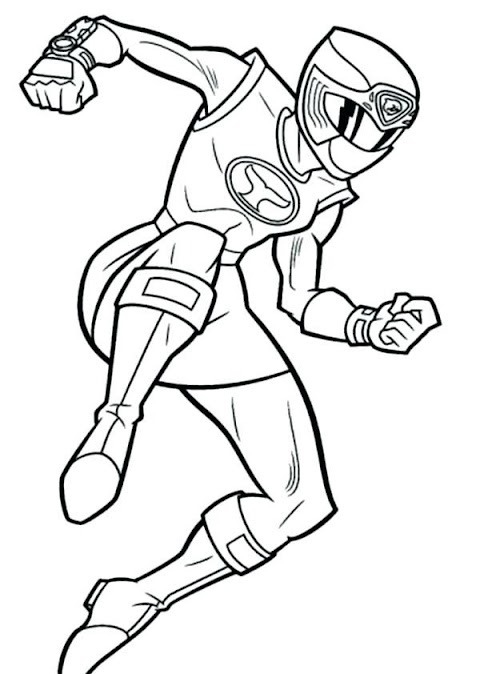 Ideas For Power Rangers Colouring