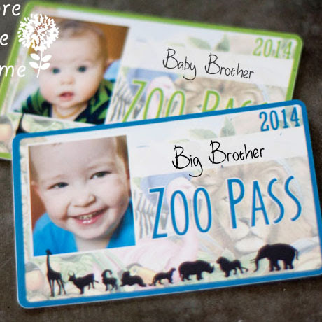free printable kids zoo pass