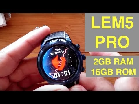 LEMFO LEM5 specs and product overview