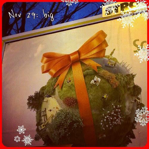 "Nov 29: big ""bauble"" #earth #fmsphotoaday #big #advent #season"