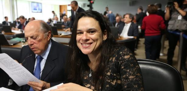 Os advogados de acusação Miguel Reale Júnior e Janaina Paschoal: presença constante na comissão do impeachment