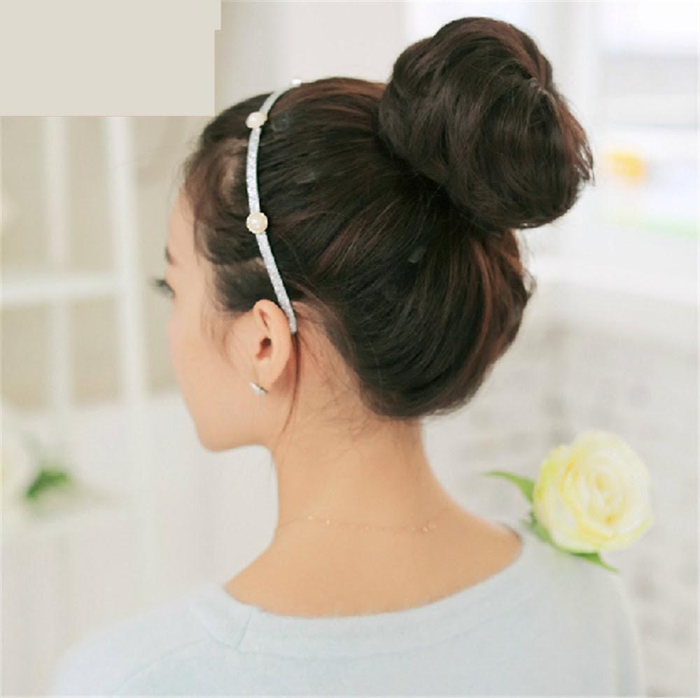 Ohyes Scrunchie Bun Updo  Hairpiece  Hair  Clip on Bun Dish