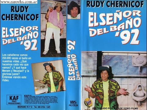 Rudy Chernicof: El señor del Baño 1992