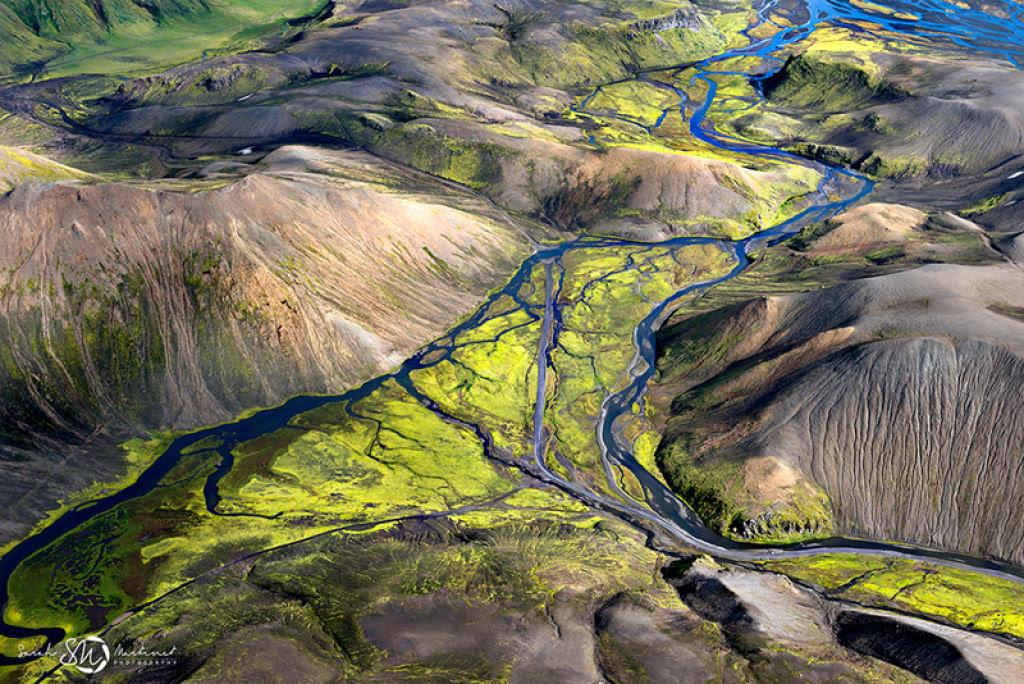 Impressionantes fotos aéreas das paisagens da Islândia 02