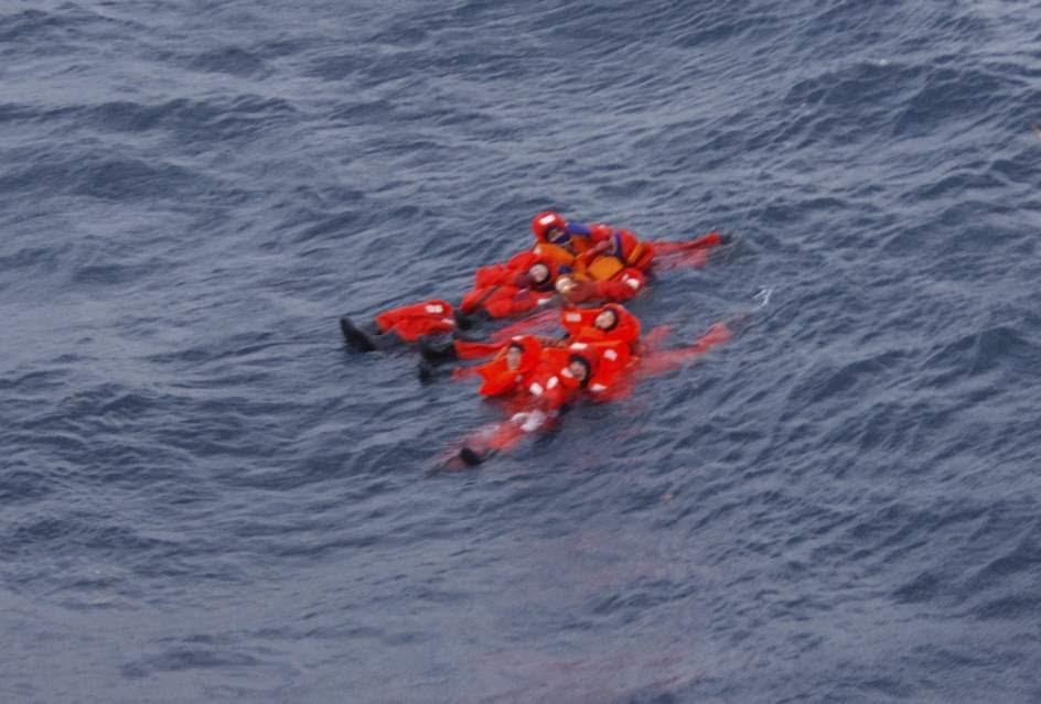 Naufragio en aguas de Japón