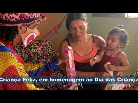 Equipe do Programa Criança Feliz realiza ação em comemoração ao dia das crianças em Araruna