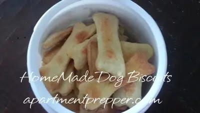 Dog Biscuits in a Jar