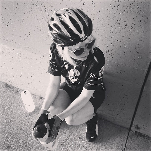 Water break // 25 mile ride today 5.18.13 Day138
