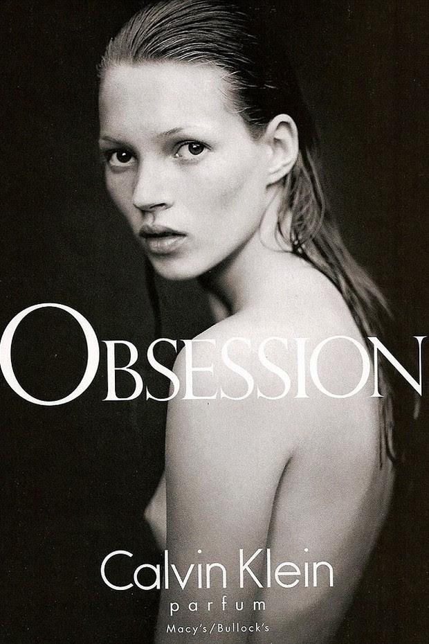 Kate Moss em 1993, aos 19 anos (Foto: Divulgação)