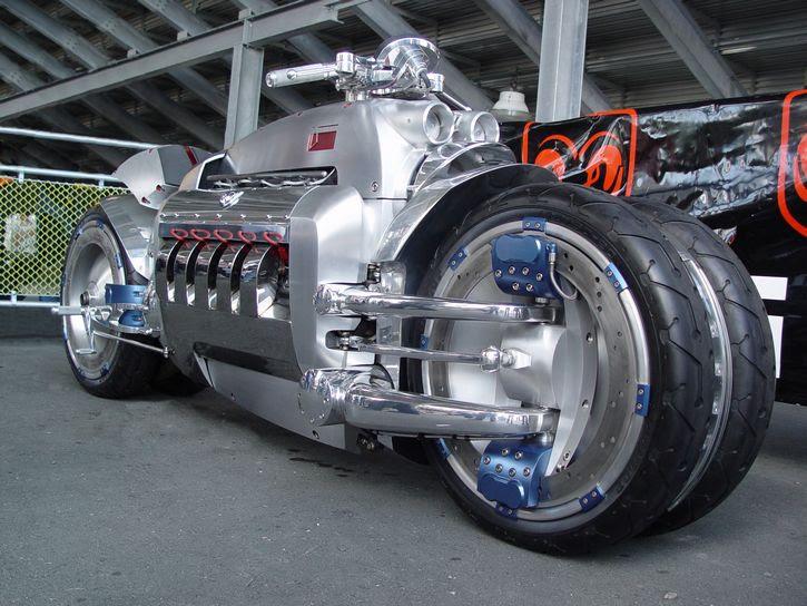 motocicleta Dodge Tomahawk v10 Superbike