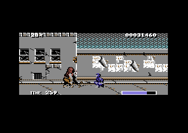 Ninja Warriors - Commodore64 - imagen 1