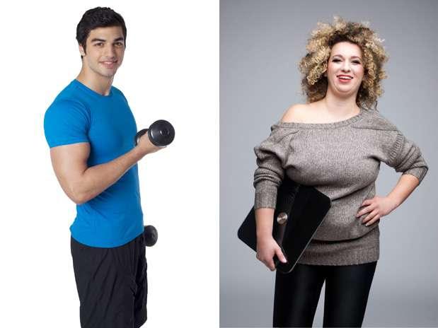 Homem encara dieta como uma guerra, segundo especialista Foto: Getty Images