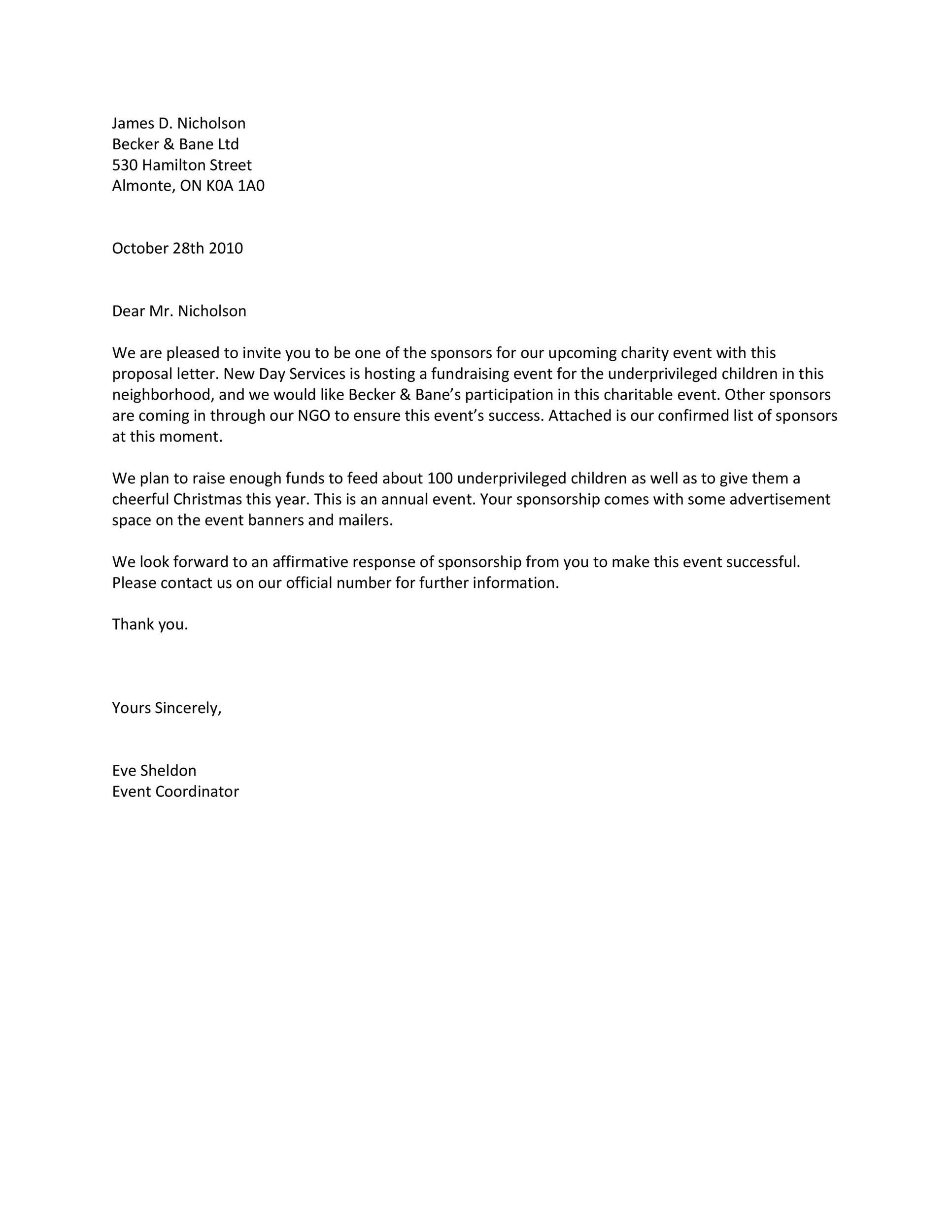 Thank You Letter To Sponsors from lh6.googleusercontent.com