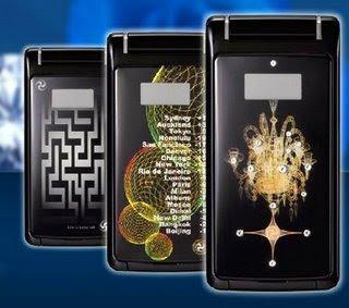Exclusive Luxury Toshiba Handset