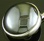 Art Deco hematite cufflinks. (J9334)