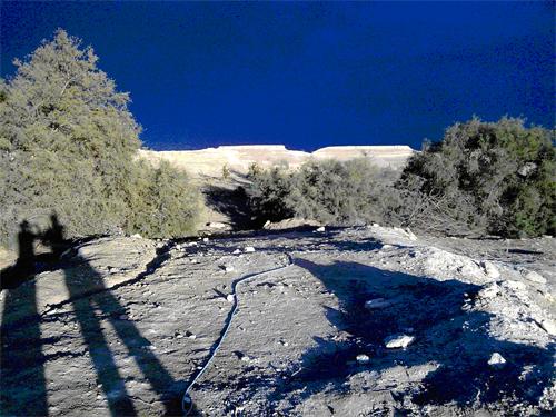 המדבר מזרחית מבית חגלה
