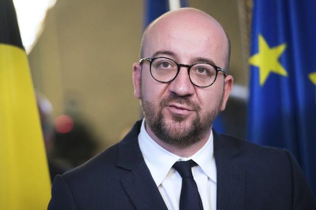 Le premier ministre belge Charles Michel a annoncé... (AFP, Laurie Dieffembacq)