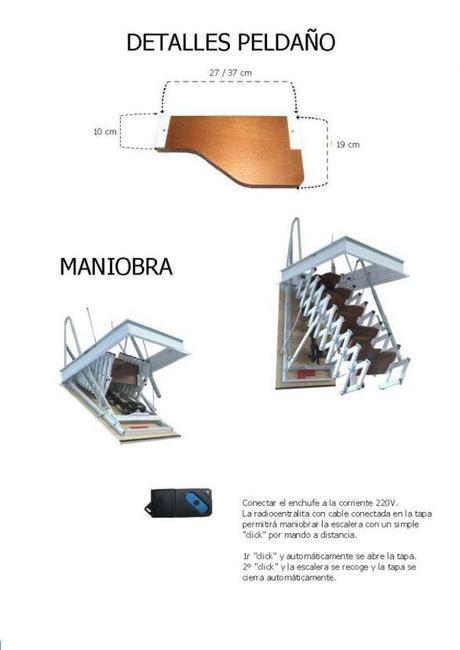 Casas de madera prefabricadas modelos decaleras para altillos - Como hacer una escalera plegable para altillo ...