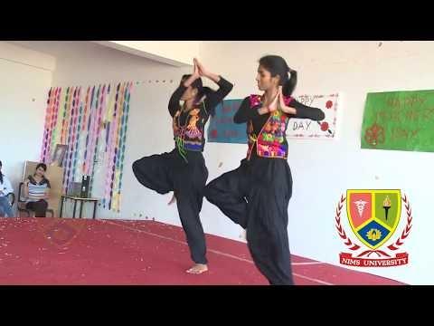 Girls Dance Performance : Teachers Day | Nims University Rajasthan, Jaipur