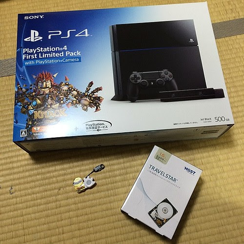PS4のHDDを交換しよう