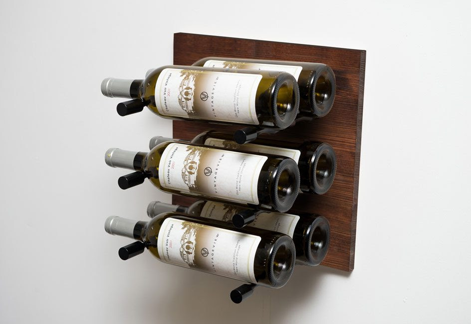 Grain And Rod Metal And Wood Infused Wine Racks By Vintageview