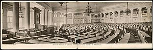 Convention Hall of the first Russian parliamen...