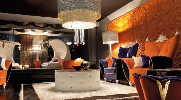 Luxurious Interiors-in Bold Colour